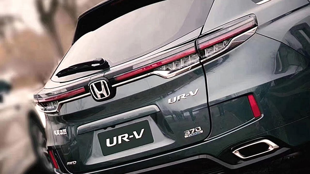 New 2021 Honda UR V Unveiled With Updated Exterior ...